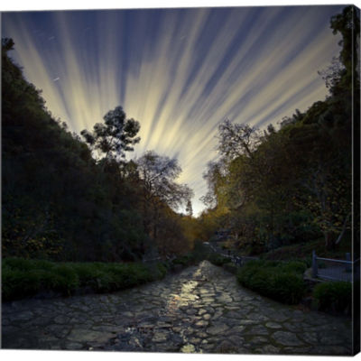 Utopia Gallery Wrapped Canvas Wall Art On Deep Stretch Bars