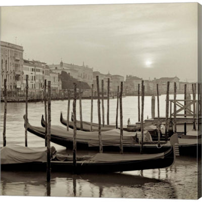 Metaverse Art Venezia 11 Gallery Wrapped Canvas Wall Art