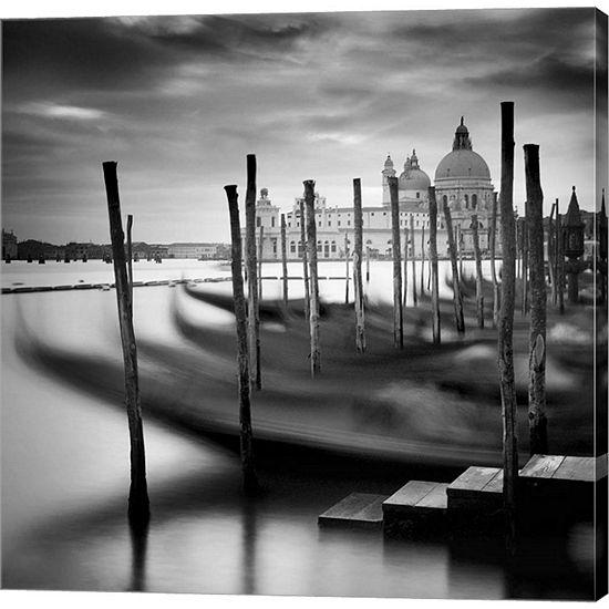 Metaverse Art Venice Santa Maria Della Salute Gallery Wrapped Canvas Wall Art