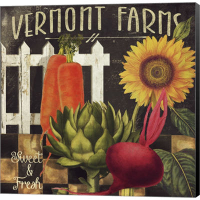Metaverse Art Vermont Farms VIii Gallery Wrapped Canvas Wall Art