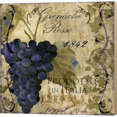 Metaverse Art Vino Italiano III Gallery Wrapped Canvas Wall Art