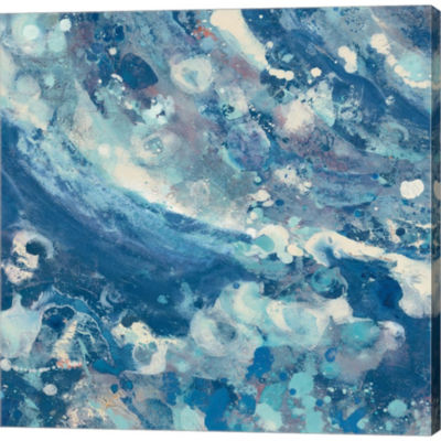 Metaverse Art Water IV Gallery Wrapped Canvas WallArt