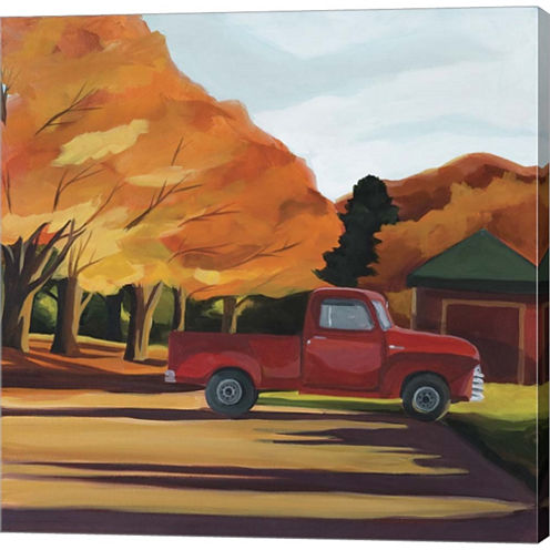 Wilbur's Truck Gallery Wrapped Canvas Wall Art OnDeep Stretch Bars