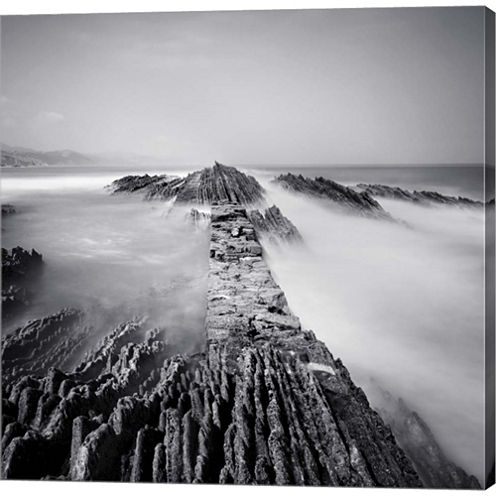 Zumaia Gallery Wrapped Canvas Wall Art On Deep Stretch Bars