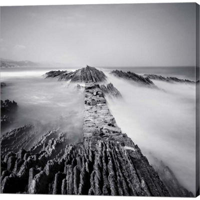 Metaverse Art Zumaia Gallery Wrapped Canvas Wall Art
