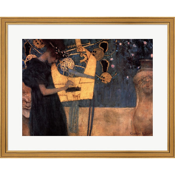 Metaverse Art Music C.1895 Framed Print Wall Art