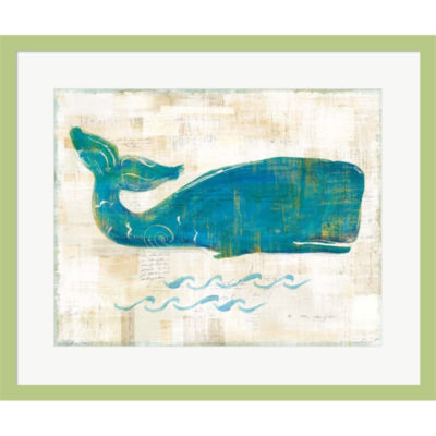On The Waves I Framed Print Wall Art