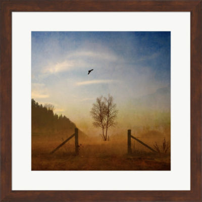 Metaverse Art Open Space Framed Print Wall Art