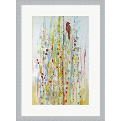 Metaverse Art Pause 1 Framed Print Wall Art