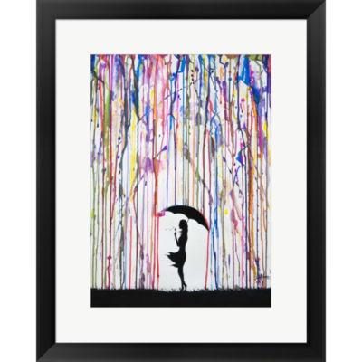 Metaverse Art Persephone Framed Print Wall Art