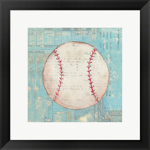 Play Ball I Framed Print Wall Art