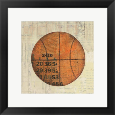 Metaverse Art Play Ball IV Framed Print Wall Art