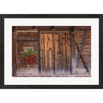Metaverse Art Rustic Charm Framed Print Wall Art