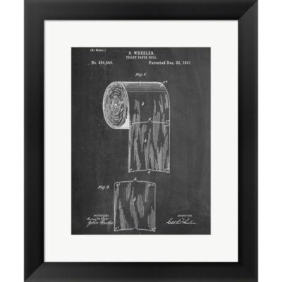 Metaverse Art Sanitary Paper Framed Print Wall Art
