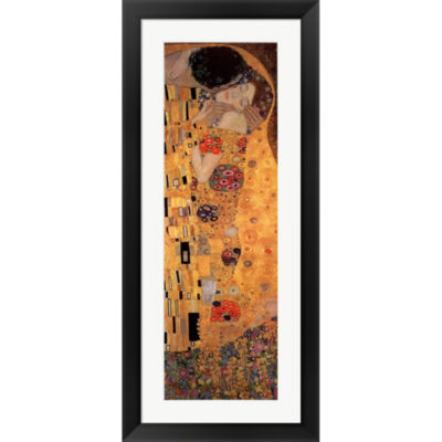 Metaverse Art The Kiss C.1908 Framed Print Wall Art