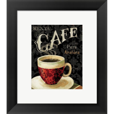 Metaverse Art Today's Coffee I Framed Print Wall Art