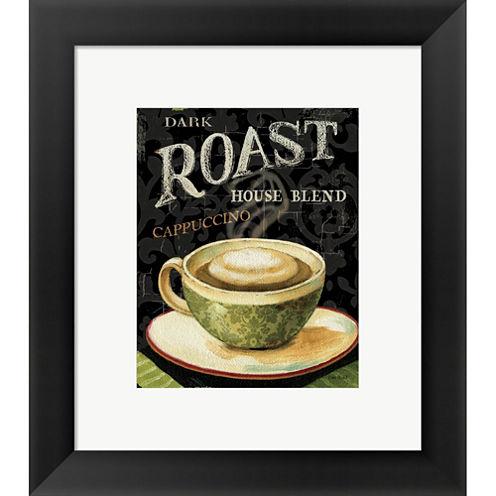 Today's Coffee III Framed Print Wall Art