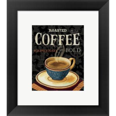 Metaverse Art Today's Coffee IV Framed Print WallArt