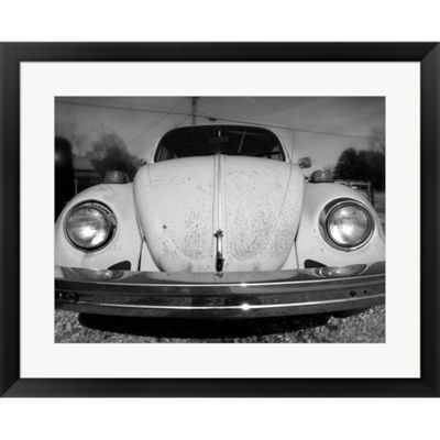 Metaverse Art Vintage Bug Framed Print Wall Art