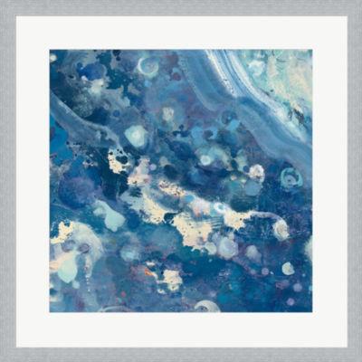 Metaverse Art Water III Framed Print Wall Art