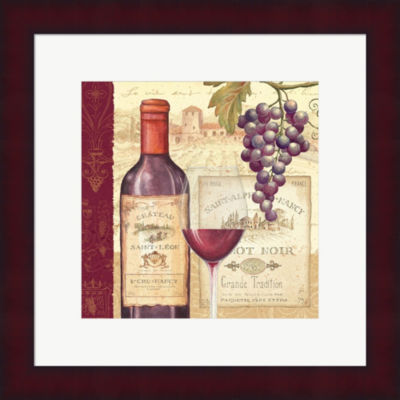 Metaverse Art Wine Tradition I Framed Print Wall Art