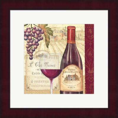 Metaverse Art Wine Tradition II Framed Print WallArt