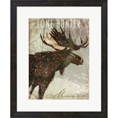 Metaverse Art Winter Game Four Framed Print Wall Art