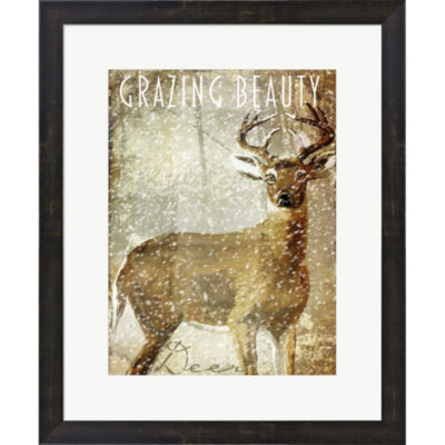 Metaverse Art Winter Game Two Framed Print Wall Art