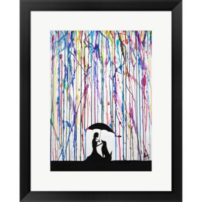 Metaverse Art Sempre Framed Print Wall Art