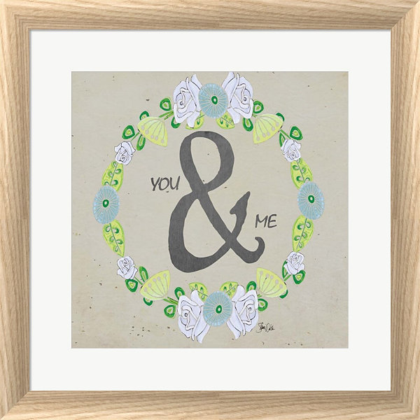 Metaverse Art You & Me I Framed Print Wall Art