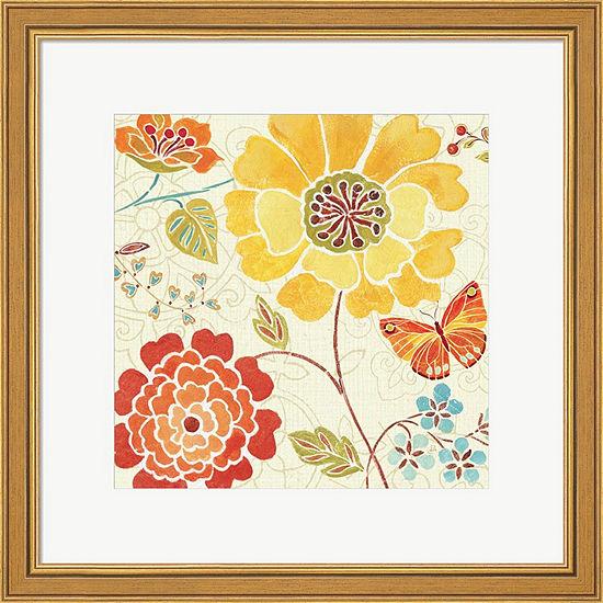 Metaverse Art Spice  Bouquet III Framed Print WallArt