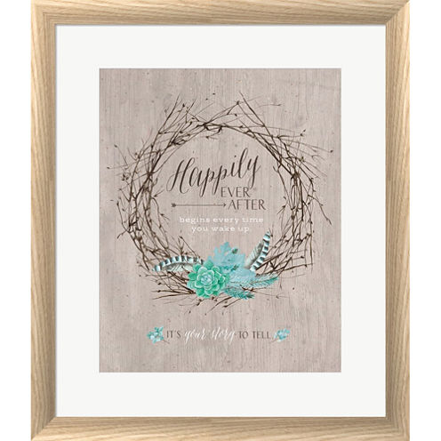 Your Story Framed Print Wall Art