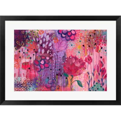 Metaverse Art Spirit Dance Framed Print Wall Art