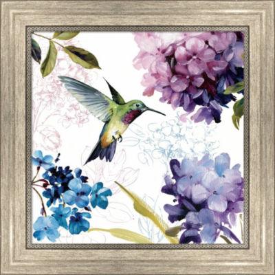 Metaverse Art Spring Nectar Square II Framed PrintWall Art