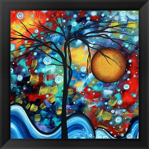 Metaverse Art Sweet Serenity Framed Print Wall Art