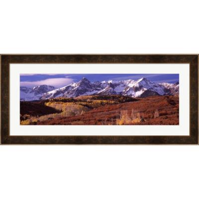 Metaverse Art Telluride Colorado Framed Print WallArt