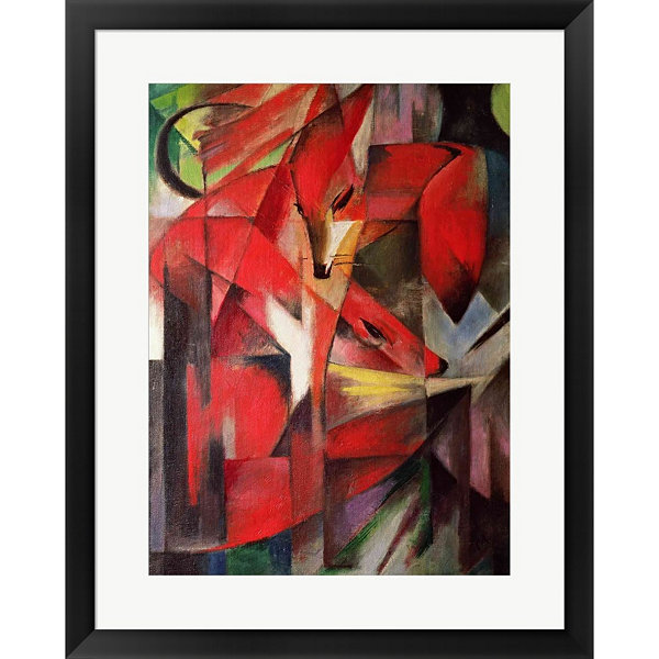 Metaverse Art The Fox 1913 Framed Print Wall Art