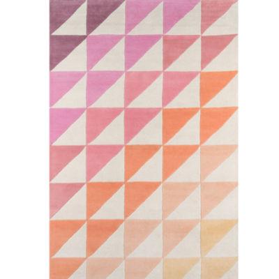 Novogratz By Momeni Side Triangles Hand Tufted Rectangular Rugs
