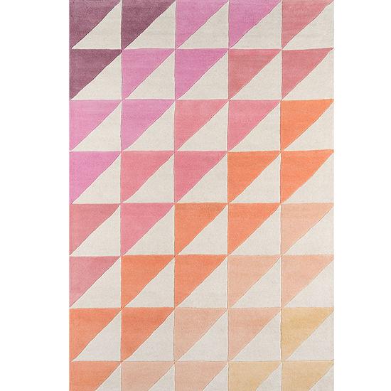 Novogratz By Momeni Side Triangles Hand Tufted Rectangular Indoor Rugs