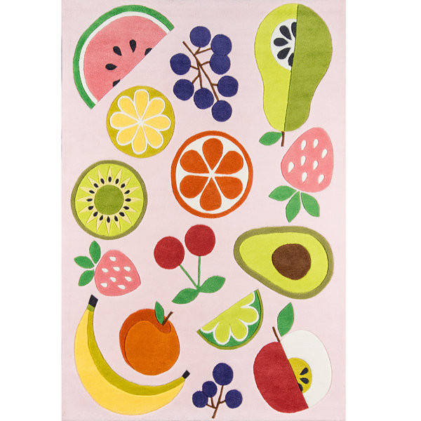 Novogratz By Momeni Vintage Fruit Hand Tufted Rectangular Rugs