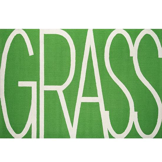 Novogratz By Momeni Grass Hooked Rectangular Indoor/Outdoor Rugs