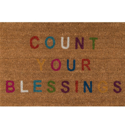 Novogratz By Momeni Blessings Hand Tufted Rectangular Doormat