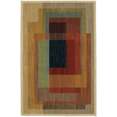 Mohawk Home Studio Illusion Printed Rectangular Indoor Rugs