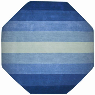 St. Croix Trading Aspect Striped Octagon Rugs