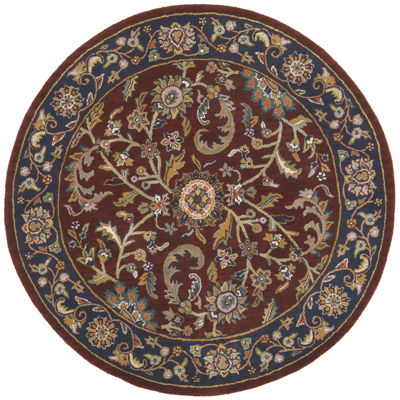 St. Croix Trading Traditions Kashan Round Rugs
