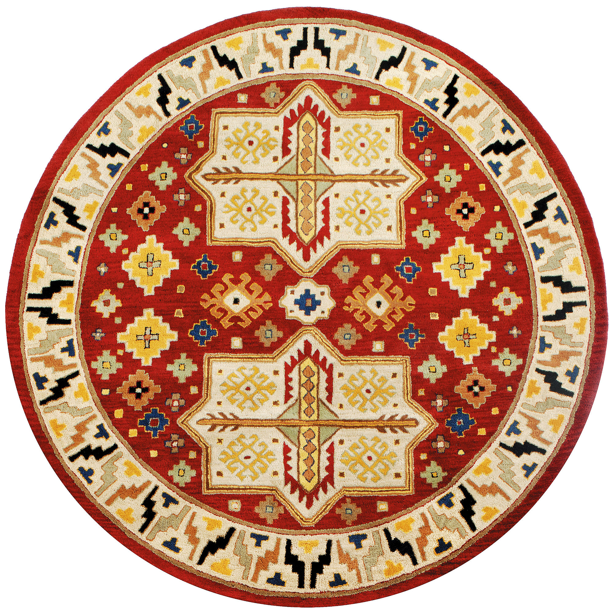 St. Croix Trading Traditions Virtu Round Rugs