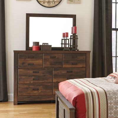 Signature Design by Ashley® Quinden Dresser and Mirror