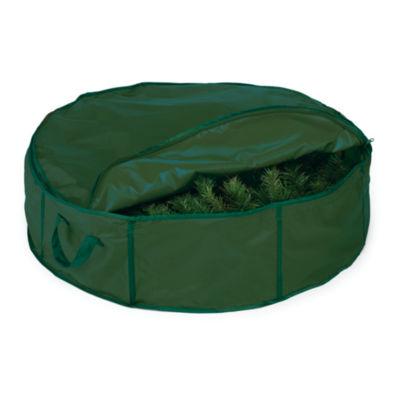"""30"""" Holiday Wreath Storage Bag"""