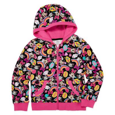 Disney Minnie Mouse Fleece Jacket-Big Kid Girls