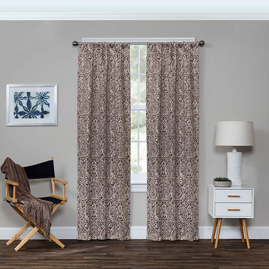 Eclipse Bryton Blackout Rod-Pocket Curtain Panel